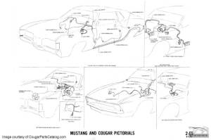 Manual  Complete Electrical Schematic  Free Download ~ 1971 Mercury Cougar ( 1971 Mercury