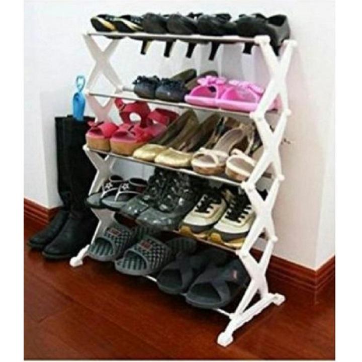 meuble etagere placard pour chaussures a 5 niveaux