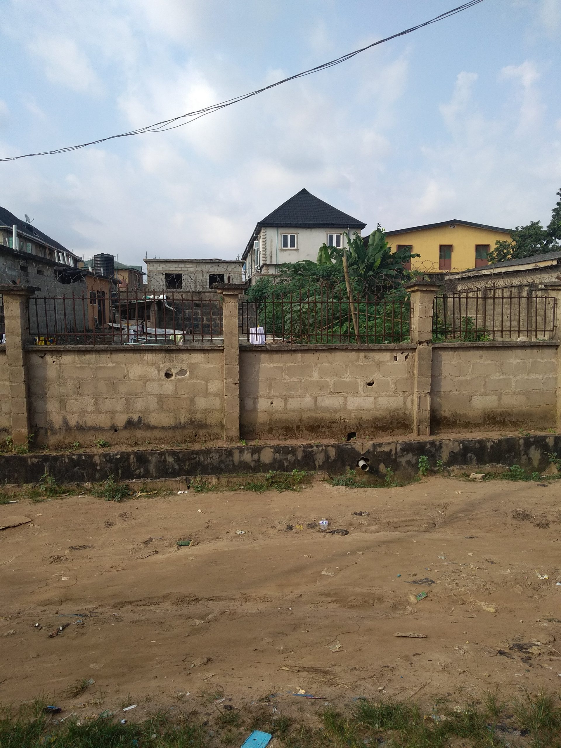 A full plot of land for sale at command ipaja