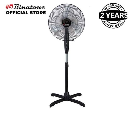 Binatone 16-Inch Standing Fan A-1691 – Black.