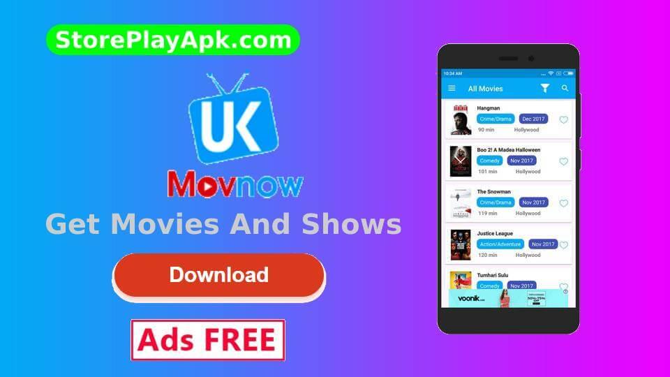 UKMOVNow Mod Apk