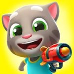 Talking Tom Blast Park Mod Apk