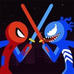 Spider Stickman Fight 2 Mod Apk