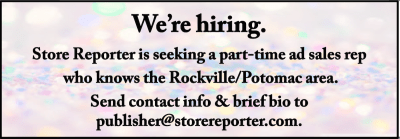 Store Reporter sales rep ad