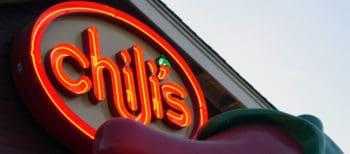 Chili's sign