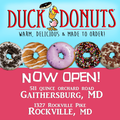 Duck Donuts now open in Gaithersburg and Rockville