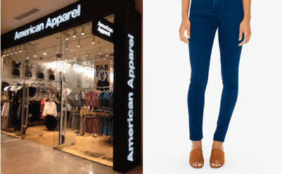 American Apparel at Westfield Montgomery Mall