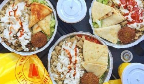 Pita platters from The Halal Guys