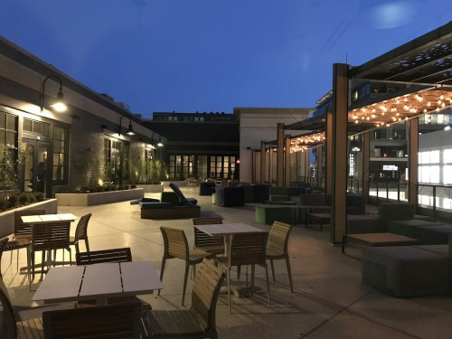 Canopy by Hilton at Pike & Rose courtyard