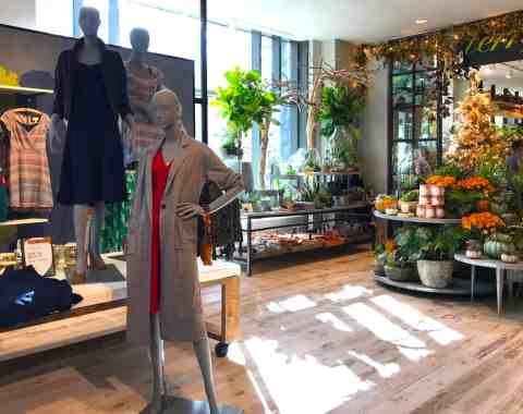 Anthropologie store in downtown Bethesda