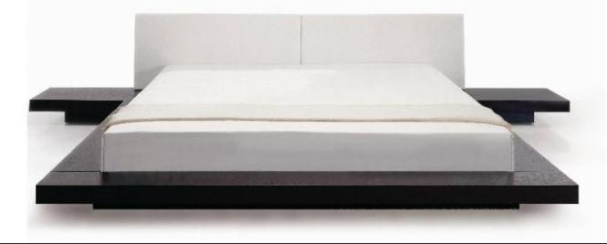 Anese Style Platform Bed Queen