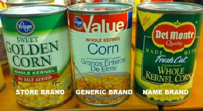 Grocery Shopping 101 Tip #1: Comparing Brands & Prices