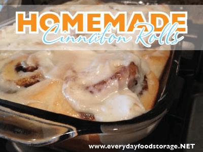 Homemade Cinnabon Cinnamon Rolls