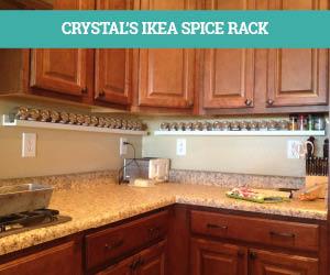 Crystal's IKEA Spicerack