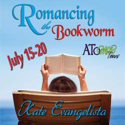 Romancing the Bookworm Tour Button
