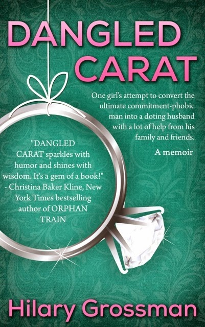 dangled carat book cover
