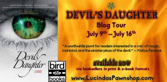 devil's daughter blog tour graphic