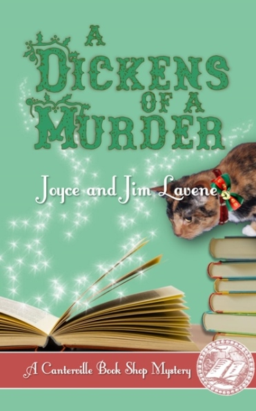 dickens of a murder cover