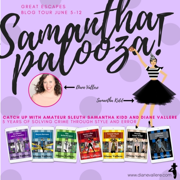 Samanthapalooza Grand Theft Retro Pearls Gone Wild By Diane Vallere Giveaway Dianevallere Cozy
