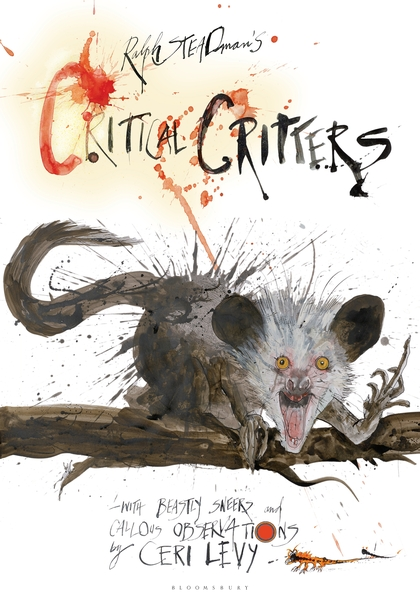 BOOK REVIEW: Critical Critters by Ralph Steadman and Ceri