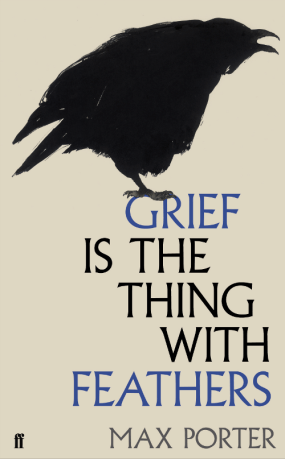 GRIEF IS THE THING WITH FEATHERS by Max Porter...https://storgy.com/2016/12/08/book-review-grief-is-the-thing-with-feathers-by-max-porter/