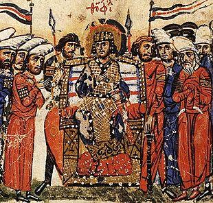 Teofilo, rappresentato nelle cronache di Giovanni Skylitzes.
