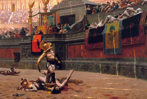 Pollice Verso *oil on canvas *97,4 x 146,6 cm *1872