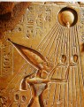 nefertiti-and-aton-sun-god