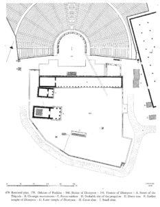 Area del Santuario di Dioniso