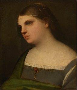 Sebastiano del Piombo, Ritratto di ragazza