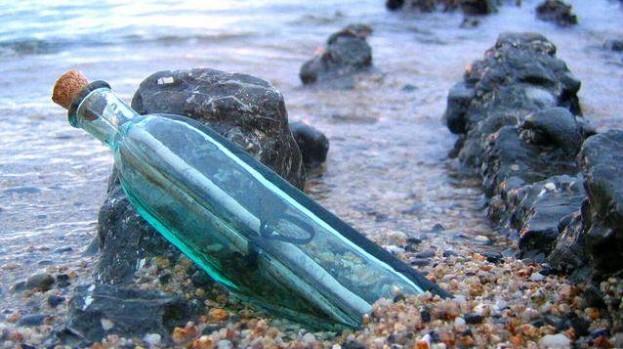 messaggio bottiglia