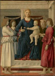 Piero della Francesca, pala di Williamstown