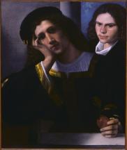 Giorgione, Doppio ritratto, c. 1502, Roma, Museo Nazionale del Palazzo di Venezia