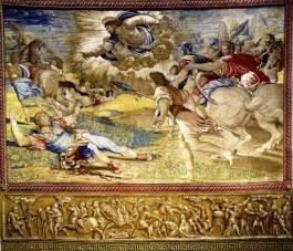 Pieter van Alst da cartone di Raffaello, Conversione di san Paolo, 1517-1519, Città del Vaticano, Musei Vaticani