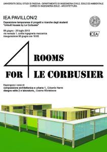 Four rooms for Le Corbusier 2