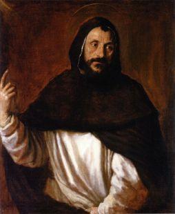 Tiziano Vecellio, Ritratto di domenicano nelle vesti di San Vincenzo Ferrer
