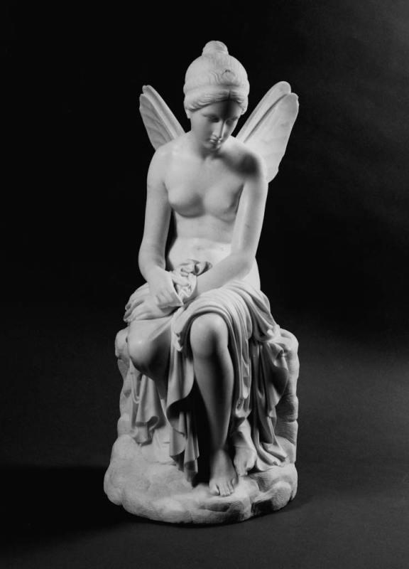 Pietro Tenerani, Psiche abbandonata, 1816-1817, Firenze, Palazzo Pitti, Galleria nazionale d'arte moderna