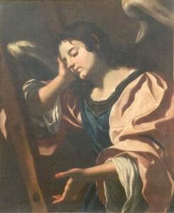 Fig. 3 Angelo con scala della passione,Brindisi, Museo Diocesano