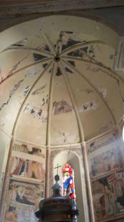 Visso, Collegiata di Santa Maria, abside (interno)