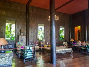 la casa museo di Jim Thompson