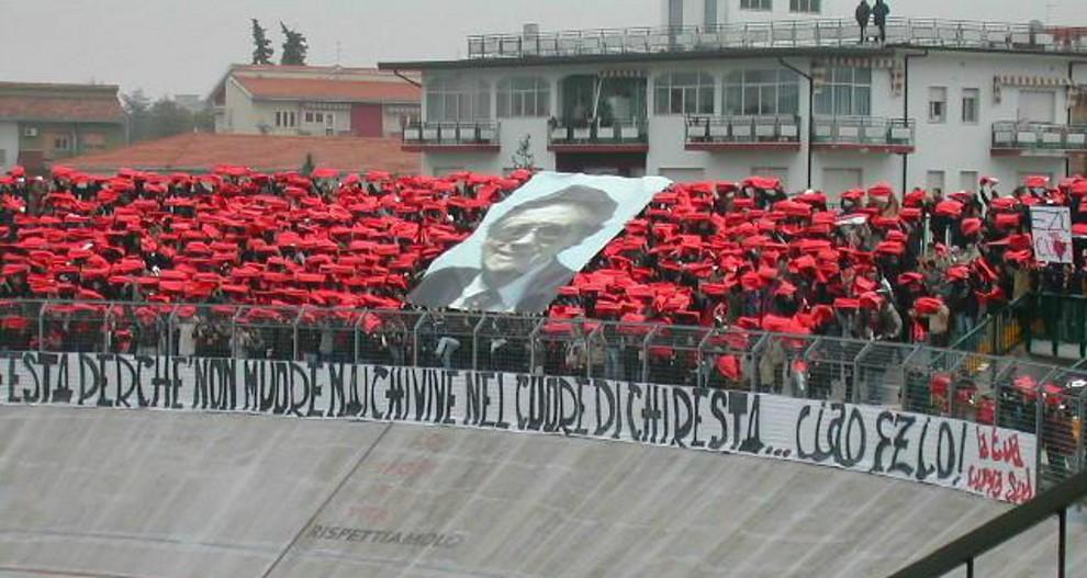 Ezio Angelucci, il presidente che incoraggiava i calciatori citando Dante