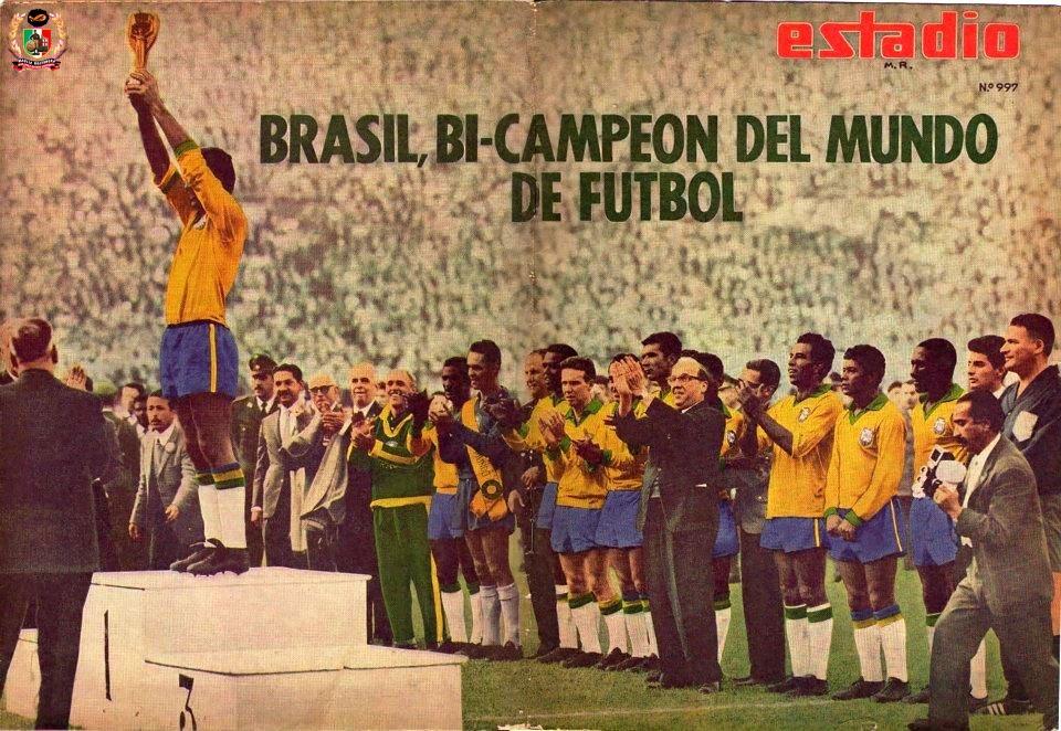 1962: Brasile-Cecoslovacchia 3-1. Willy Schrojf, antieroe per caso