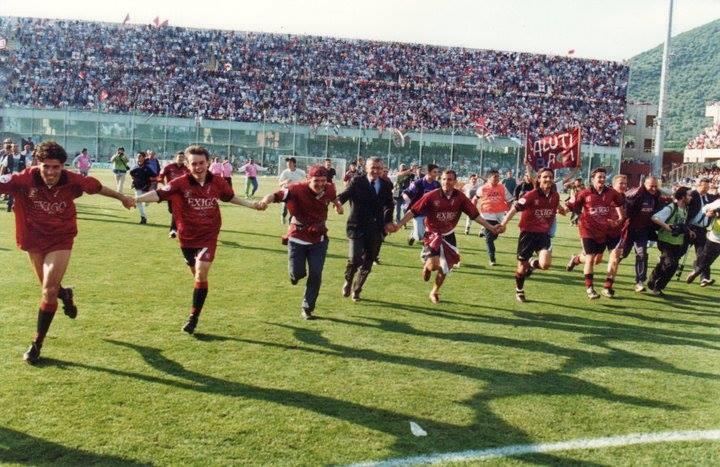 Romanzo Granata: la storica promozione della Salernitana in Serie A