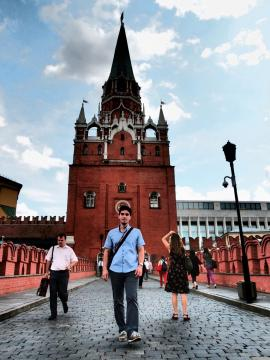 A gate of the Kremlin - Moscow