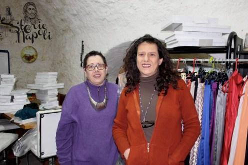 Le due sorelle Papoff, Alessandra e Stefania