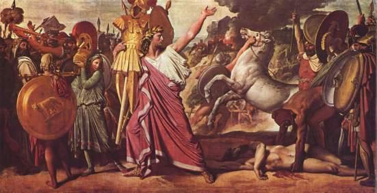Jean_Auguste_Dominique_Ingres_019- uccisione di Acrone (Romolo)