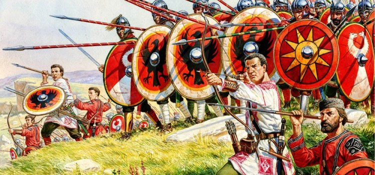La battaglia di Adrianopoli