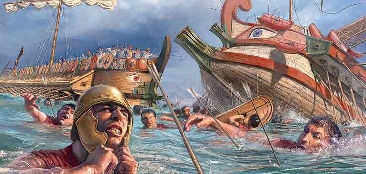 La battaglia delle Isole Egadi
