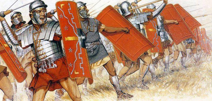 Le armature dei legionari romani