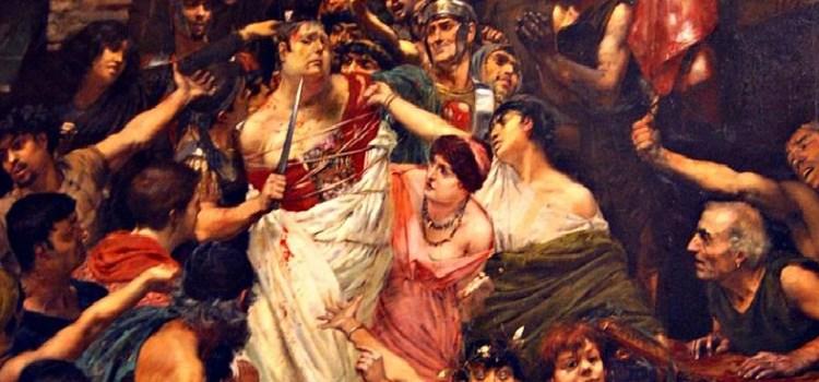Le atroci morti degli imperatori romani